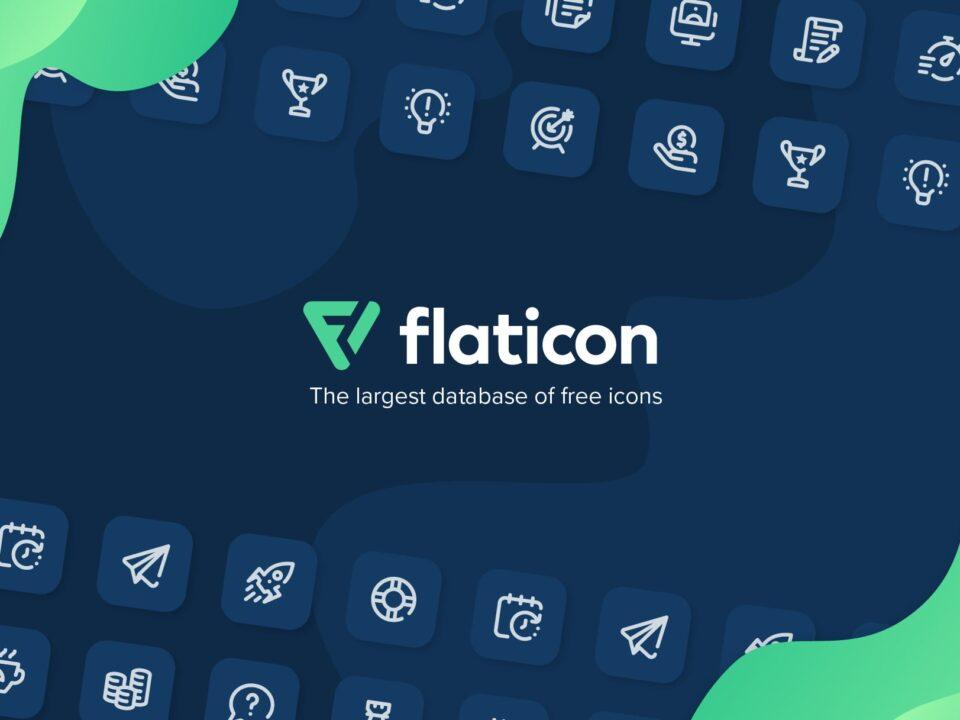 سایت flat icon